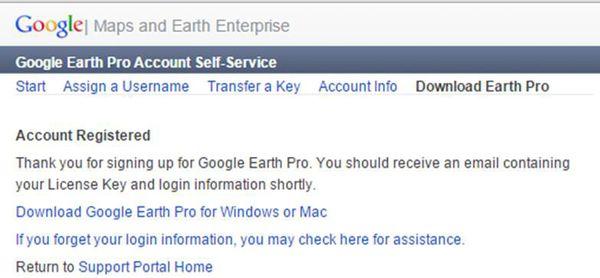 google earth完成