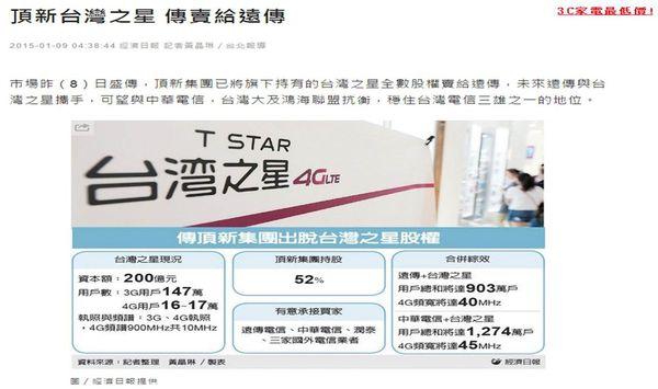 台灣之星賣掉